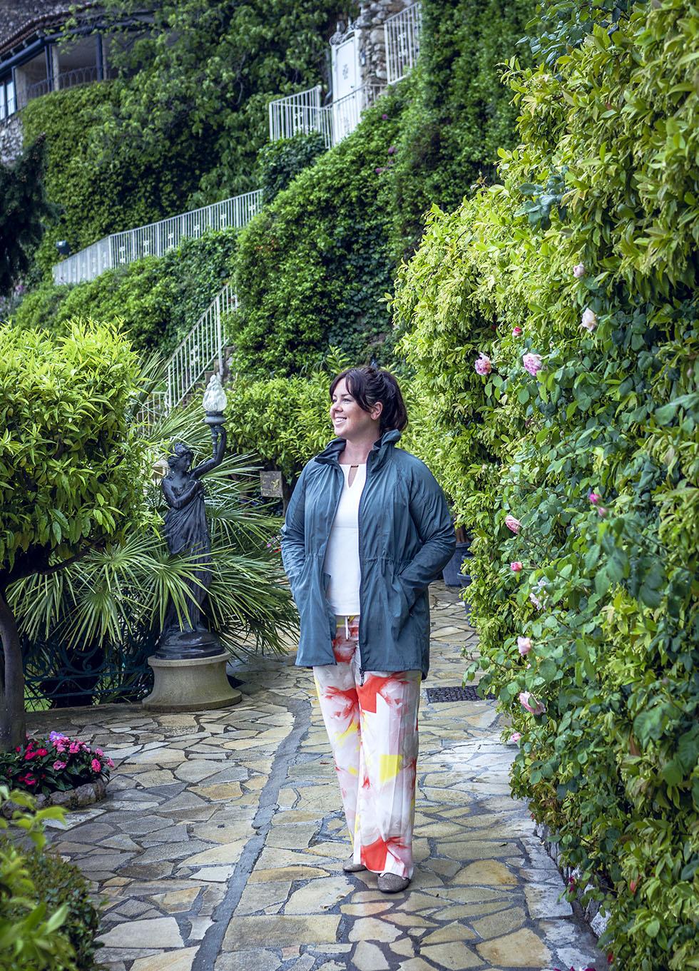 Chateau De La Chevre D'Or jardin Sara IMG_6821