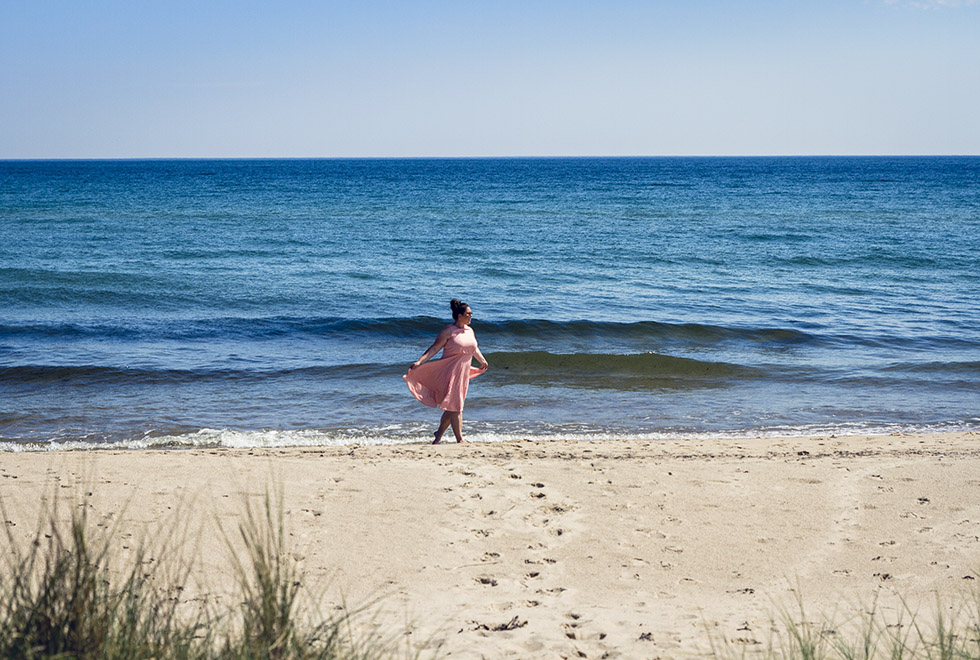 Juleboda strand Österlen