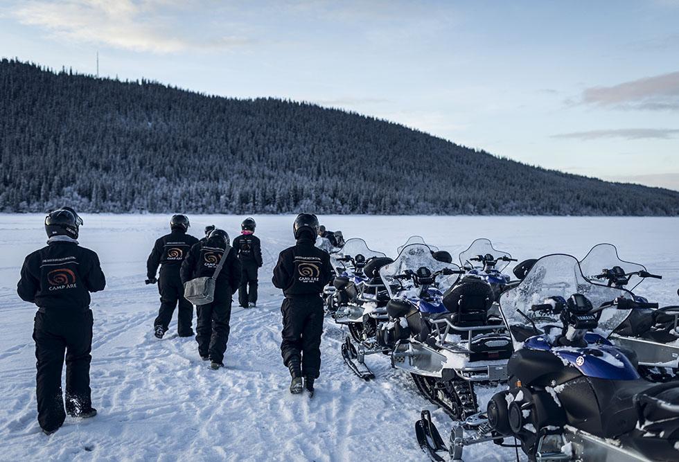 skoter i Åre med Camp Åre 5M0A8925