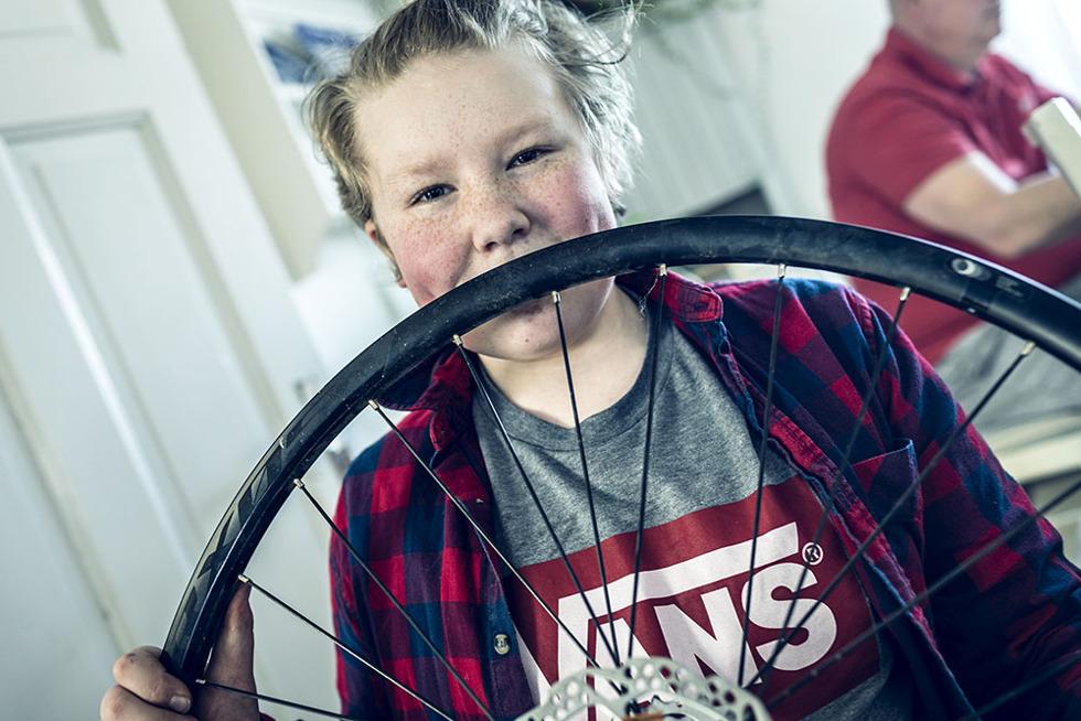 dubbdäck cykel