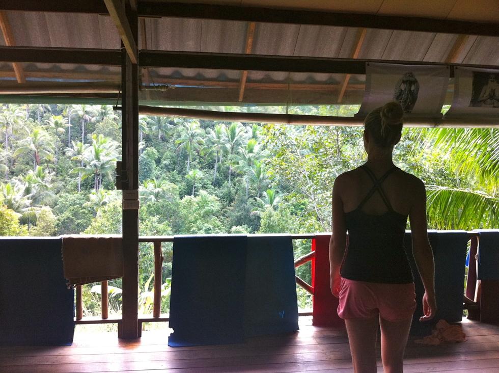 Hittade yoga