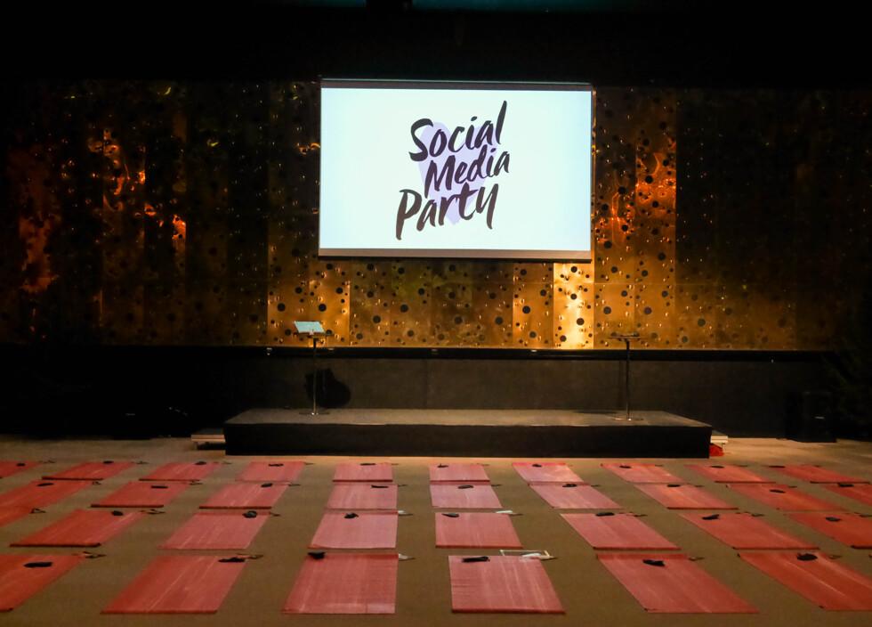 social media party