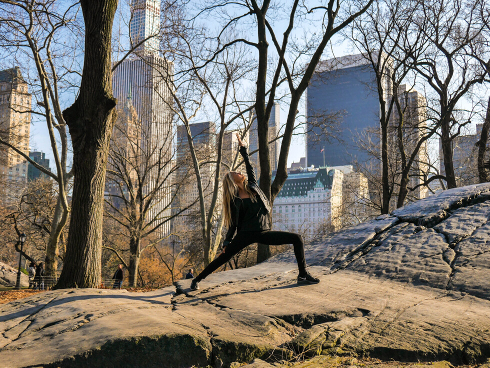 Yoga med killar i New York