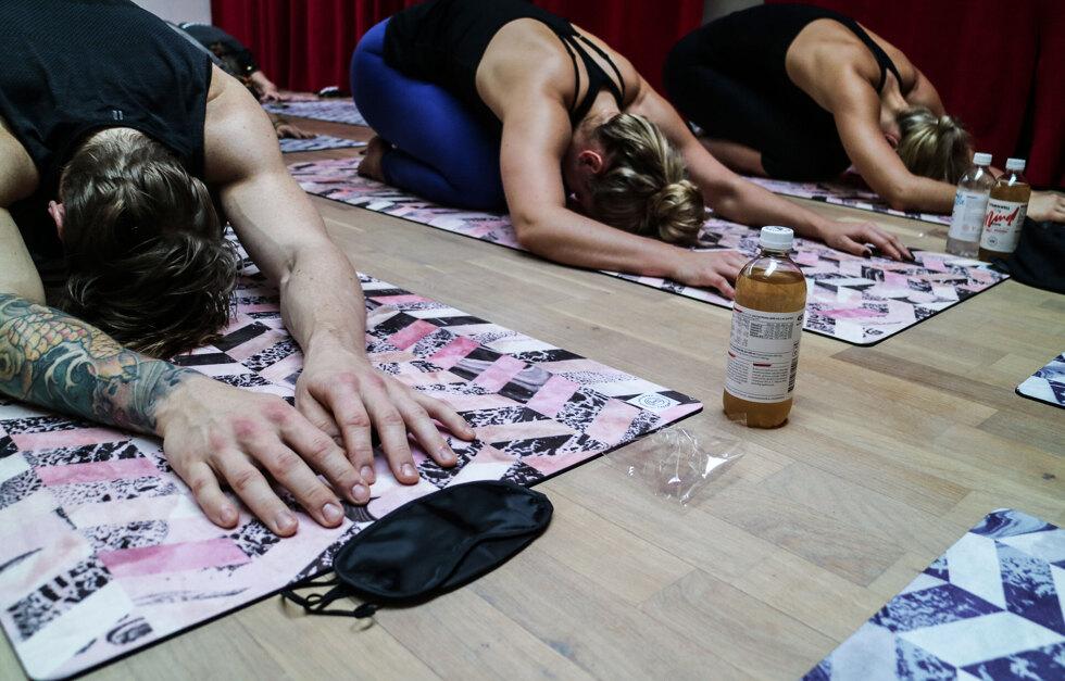 Yogaevent på hemmaplan