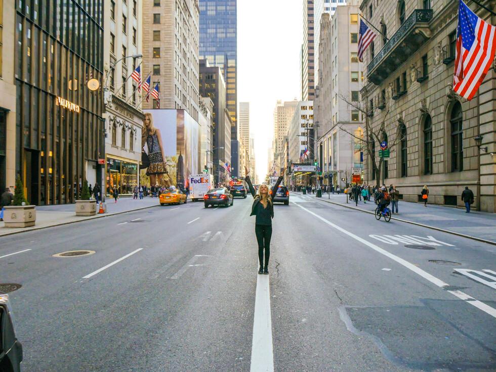 vår i new york