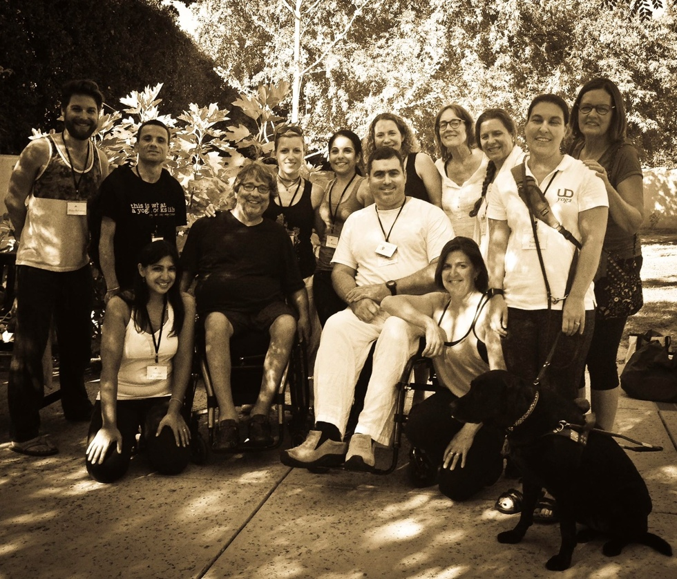 Yoga för alla - även handikappade