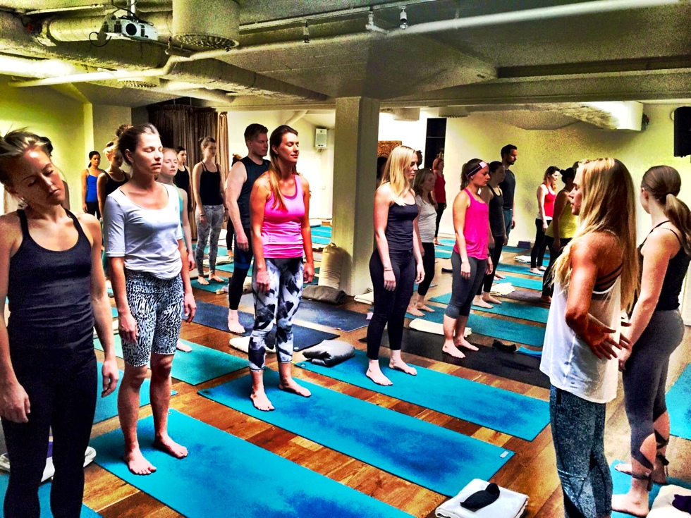 Yoga på Urban Om
