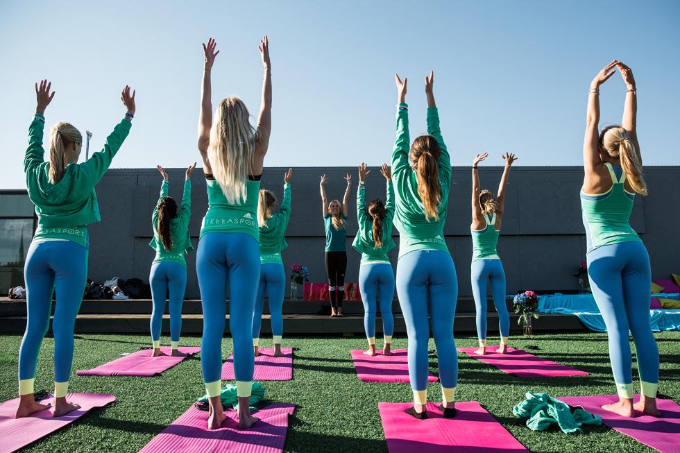 yoga med adidas