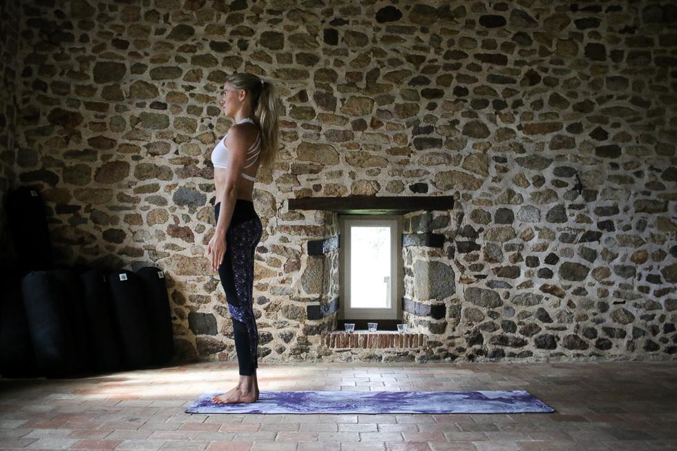 meditationsutmaning tadasana
