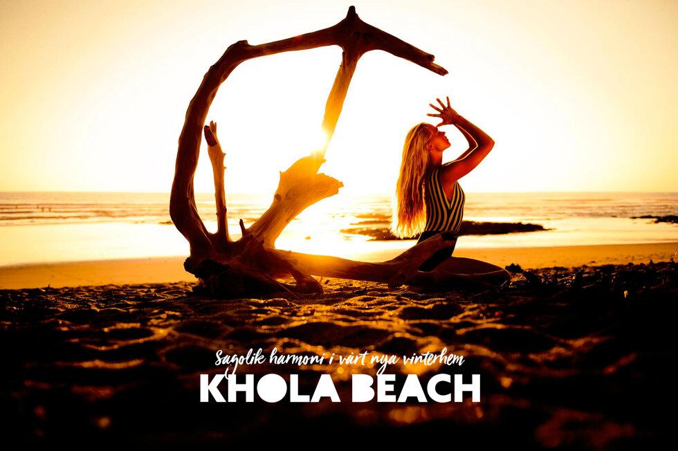 Min vinterdröm - khola beach i Indien