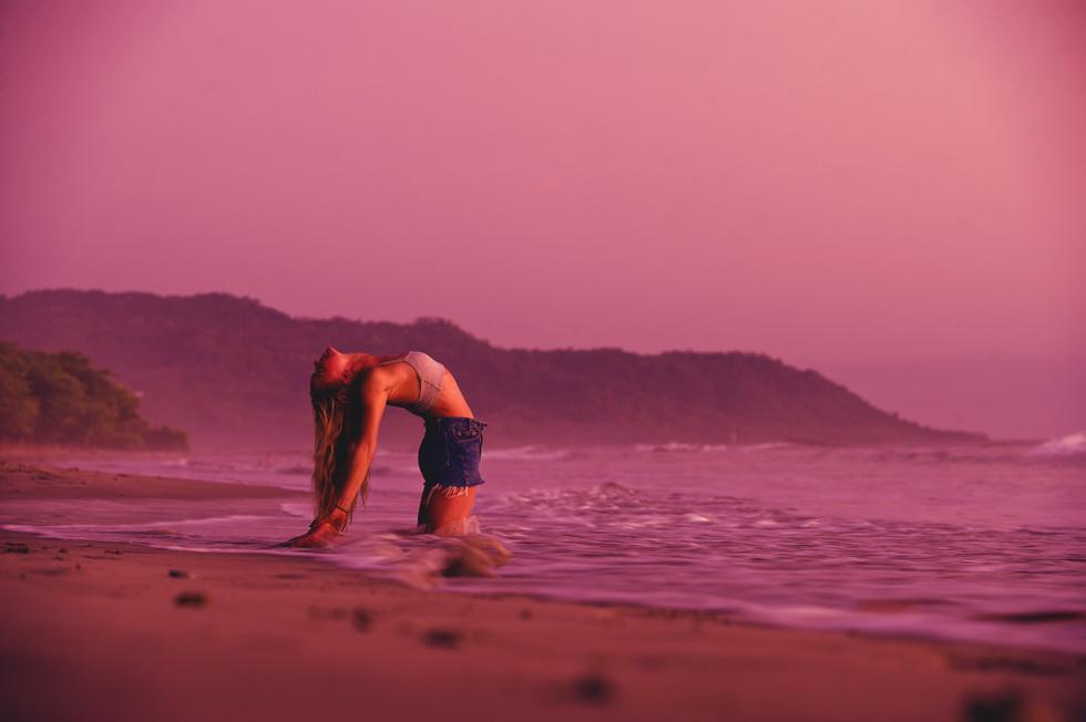 Jag är för ovig för yoga