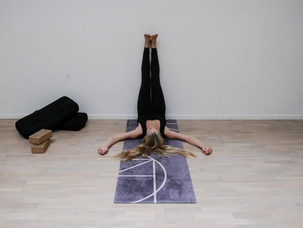 Yogautmaning Yin vipariat karani