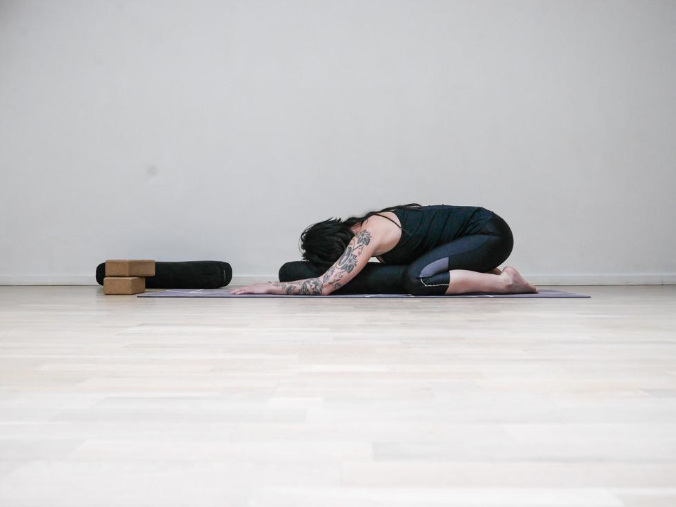 Yogautmaning Yin barnet