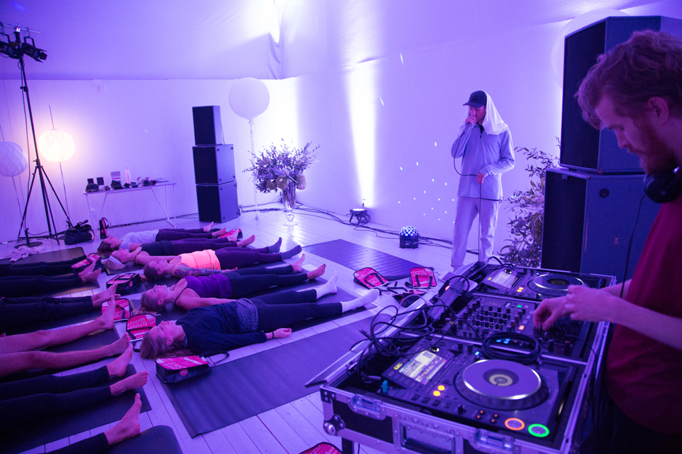 Yogaevent med Lululemon
