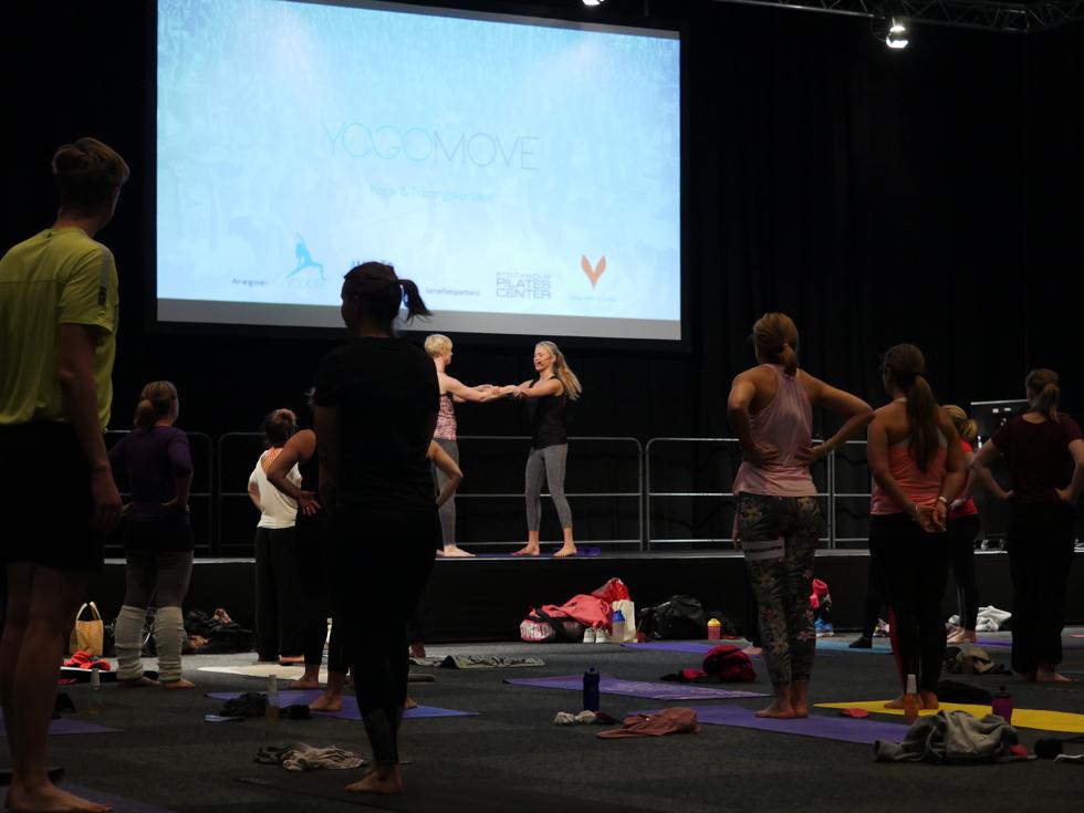 Yoga på Allt för hälsan