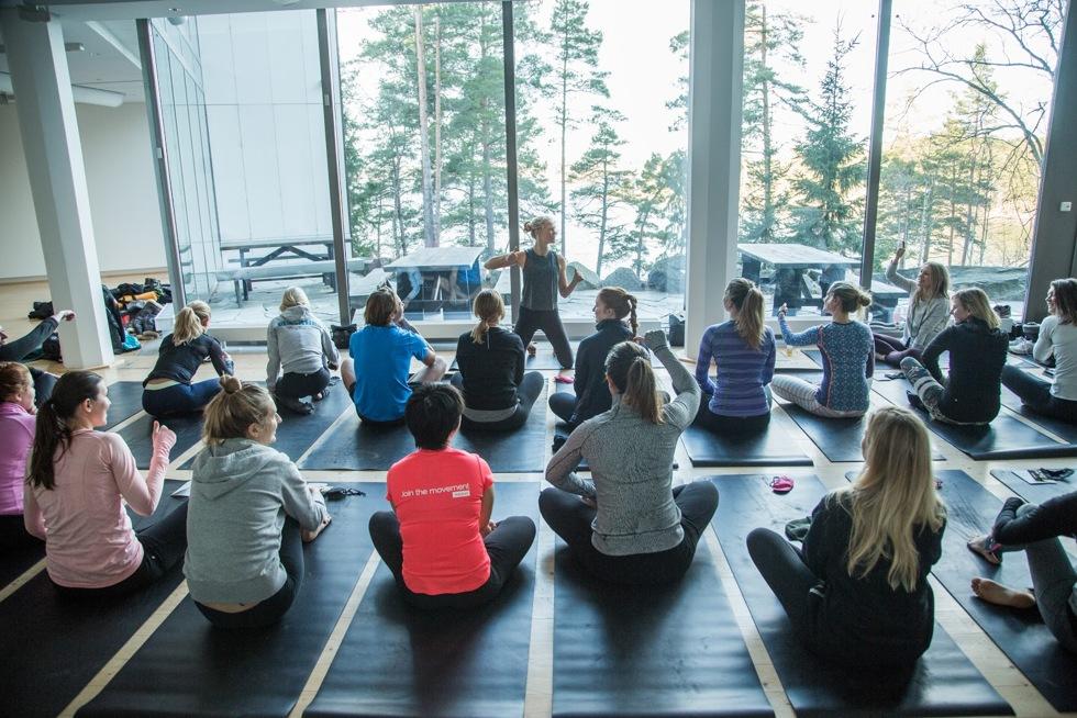 Yoga på artipilag