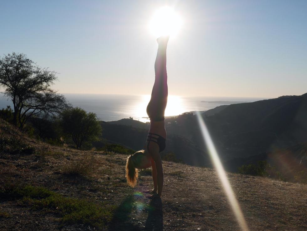 Yoga istället för gymmet