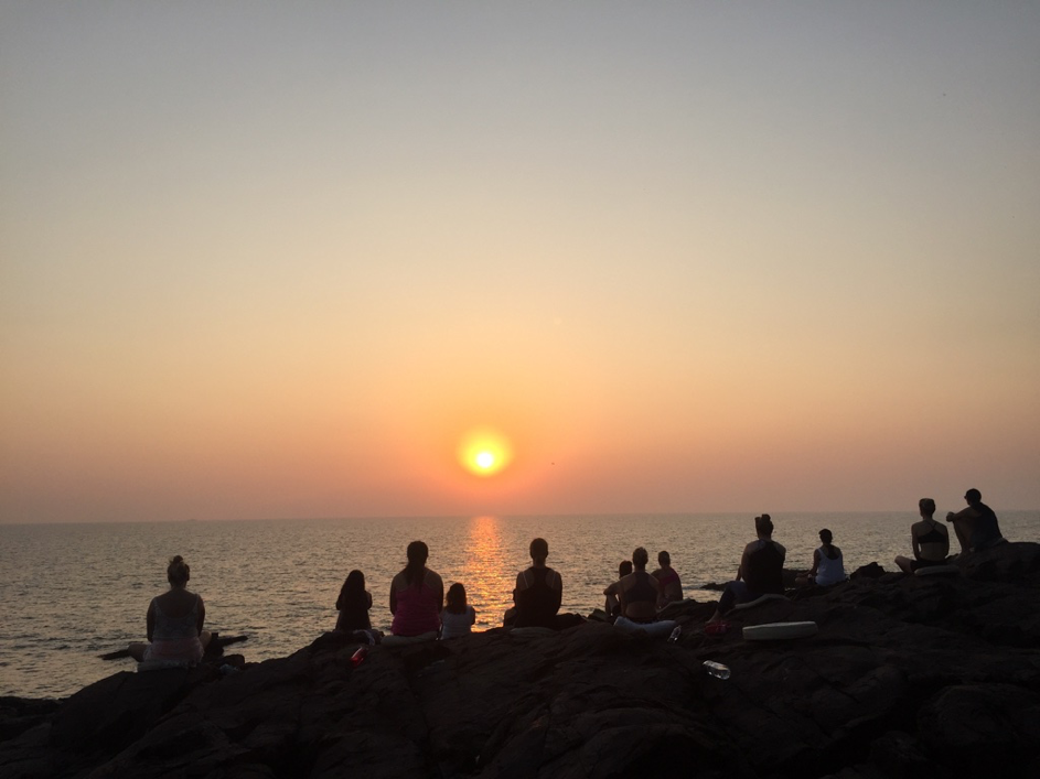 Idas yogaresa med yogiakademin dag 4a
