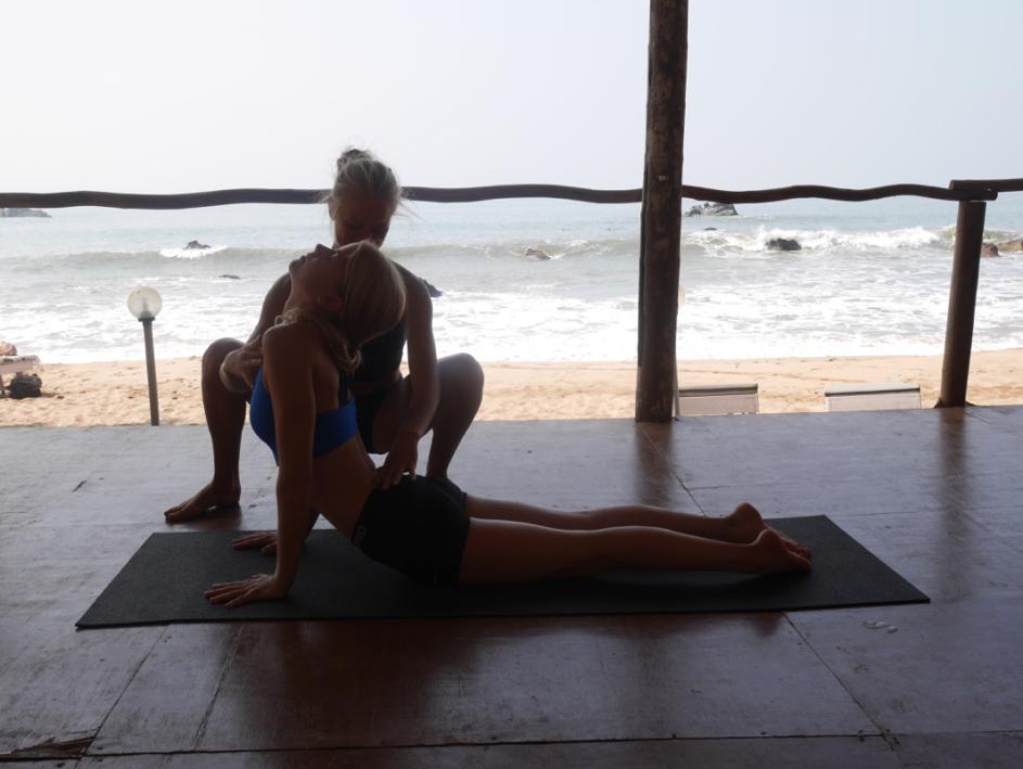 Idas yogaresa med yogiakademin dag 5a