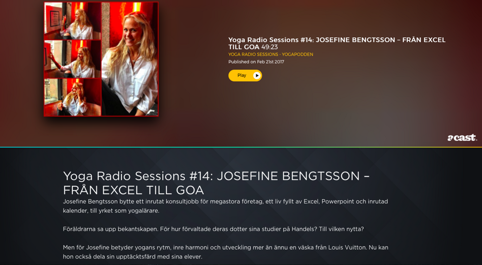 Yoga radio sessions