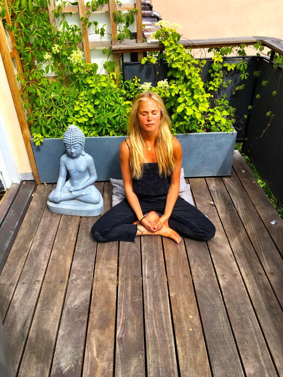 meditationschallenge - teknik för sitta. josefine bengtsson