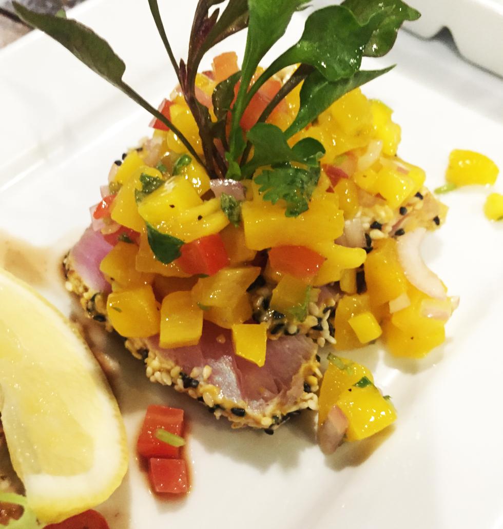 tonfisk sashimi
