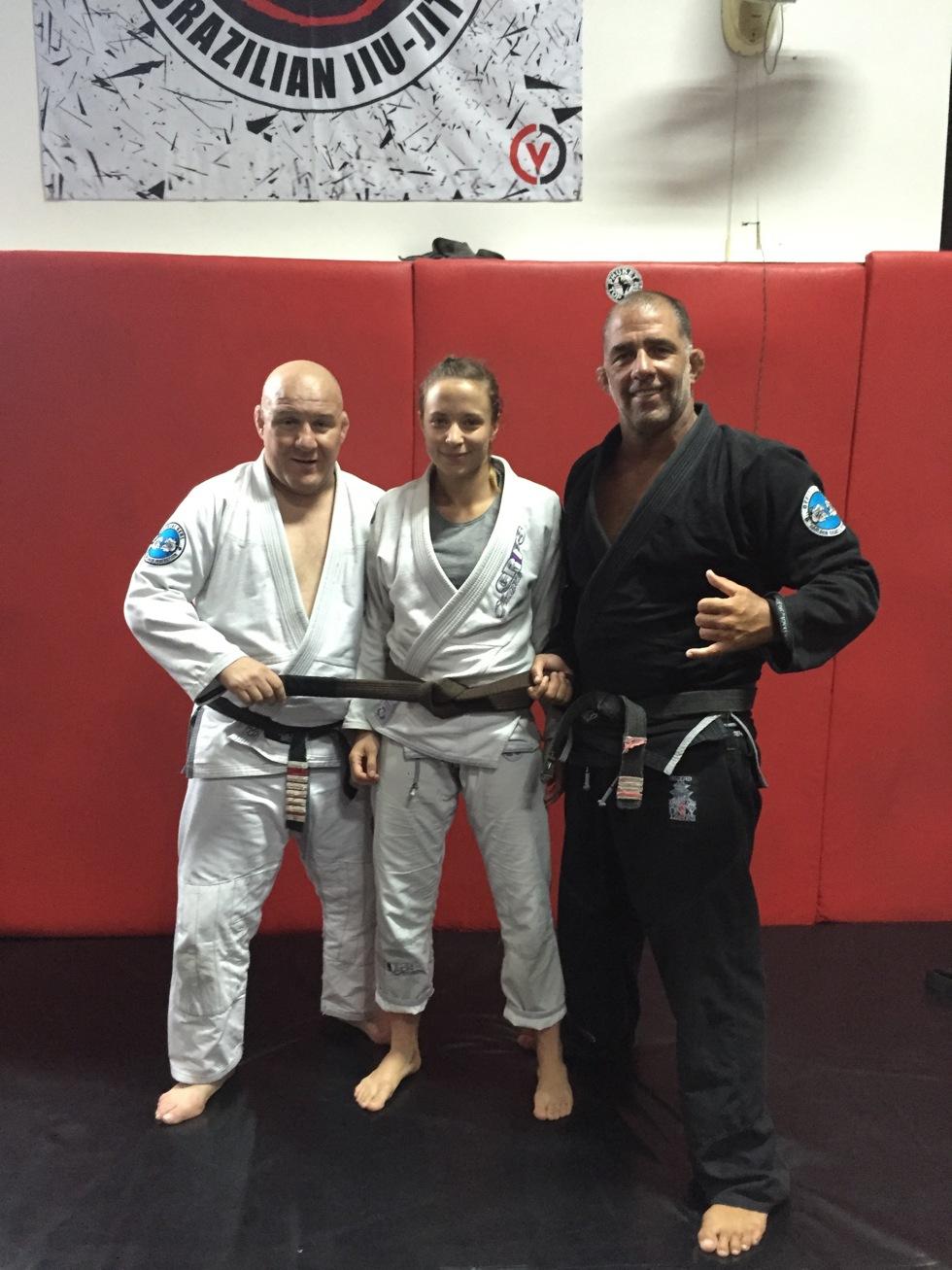 Carlson Gracie, Fannie Redman och Olavo Abreu