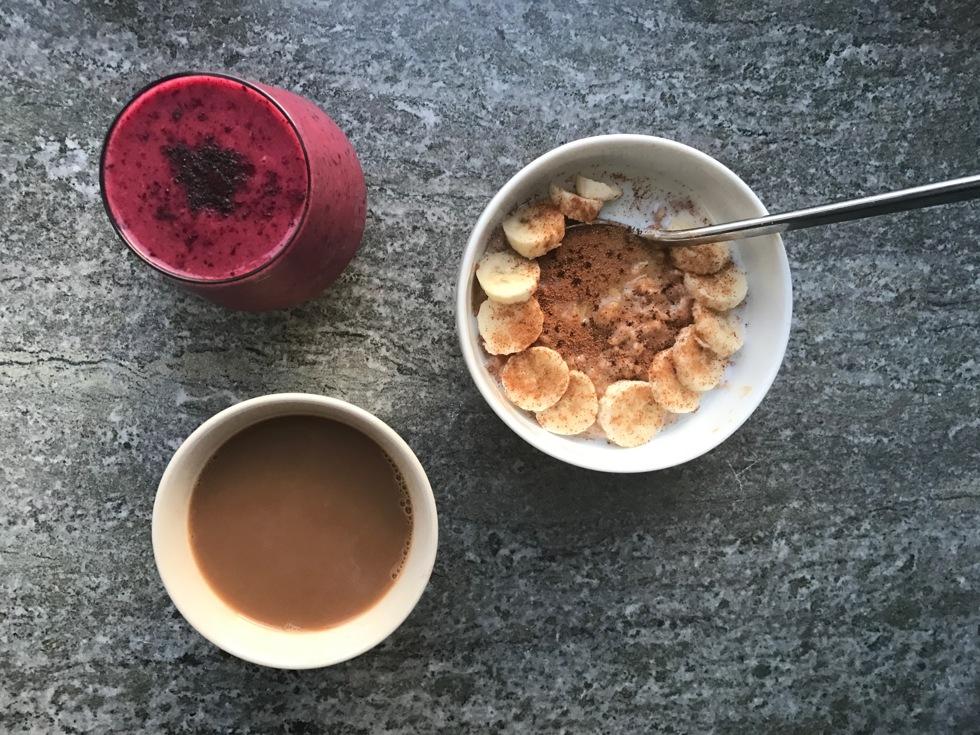 frukost rutin