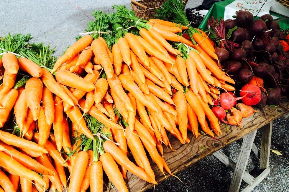 bondens marknad morötter