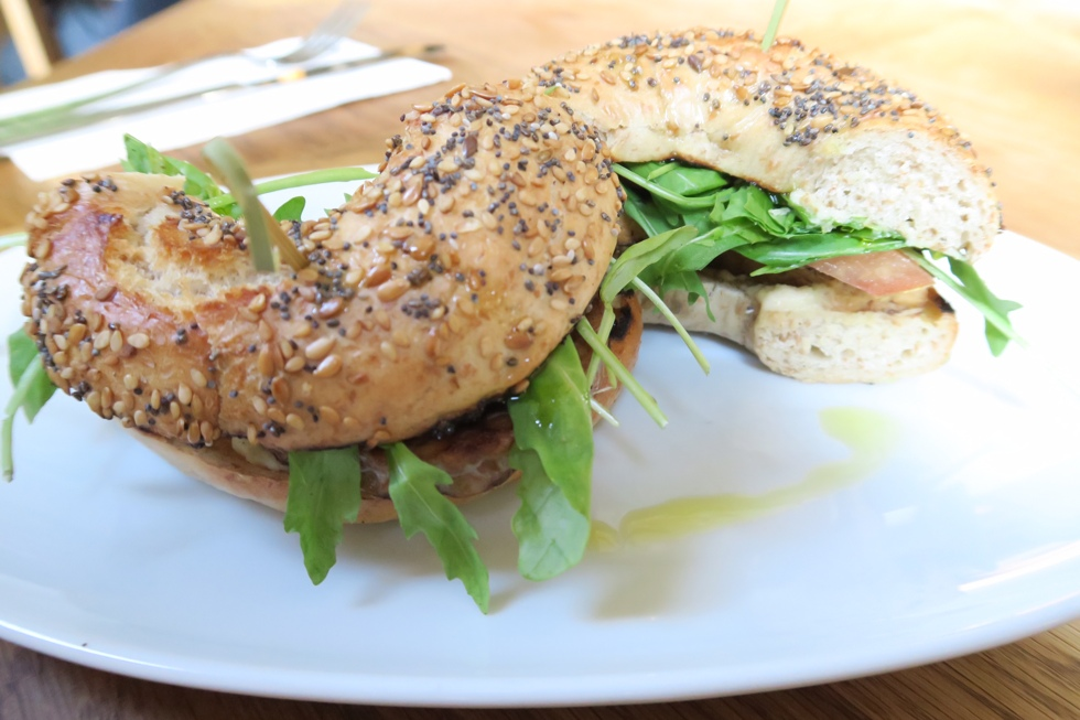 bagel flax and kale