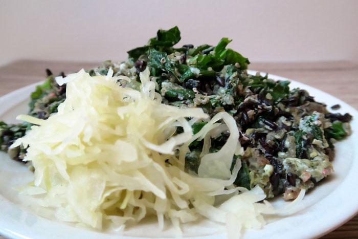 kale-wok