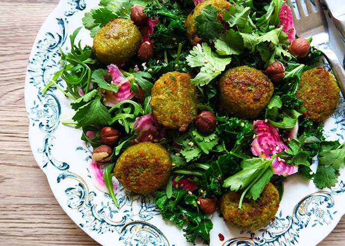 falafel-sallad
