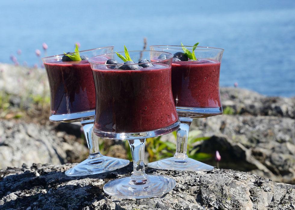 smoothie-blueberry