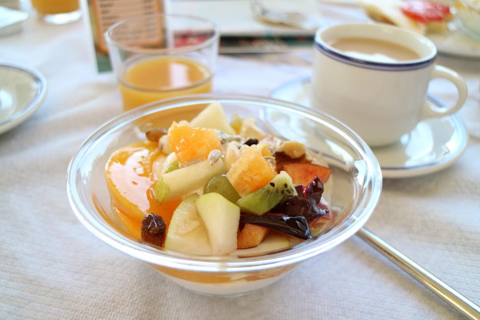 grekisk yoghurt frukost