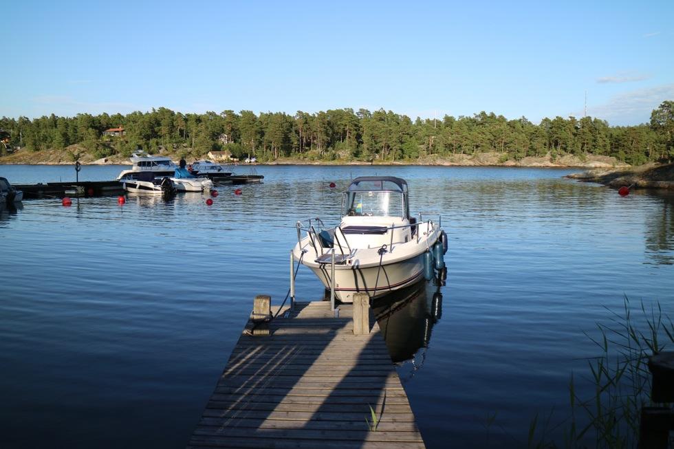 skärgård båt