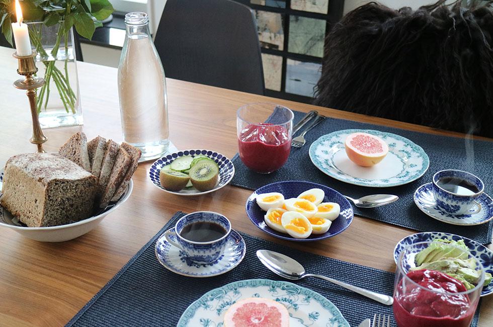 smoothie-frukost