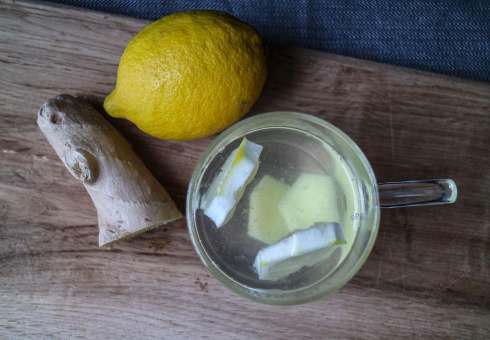 citron-ingefära