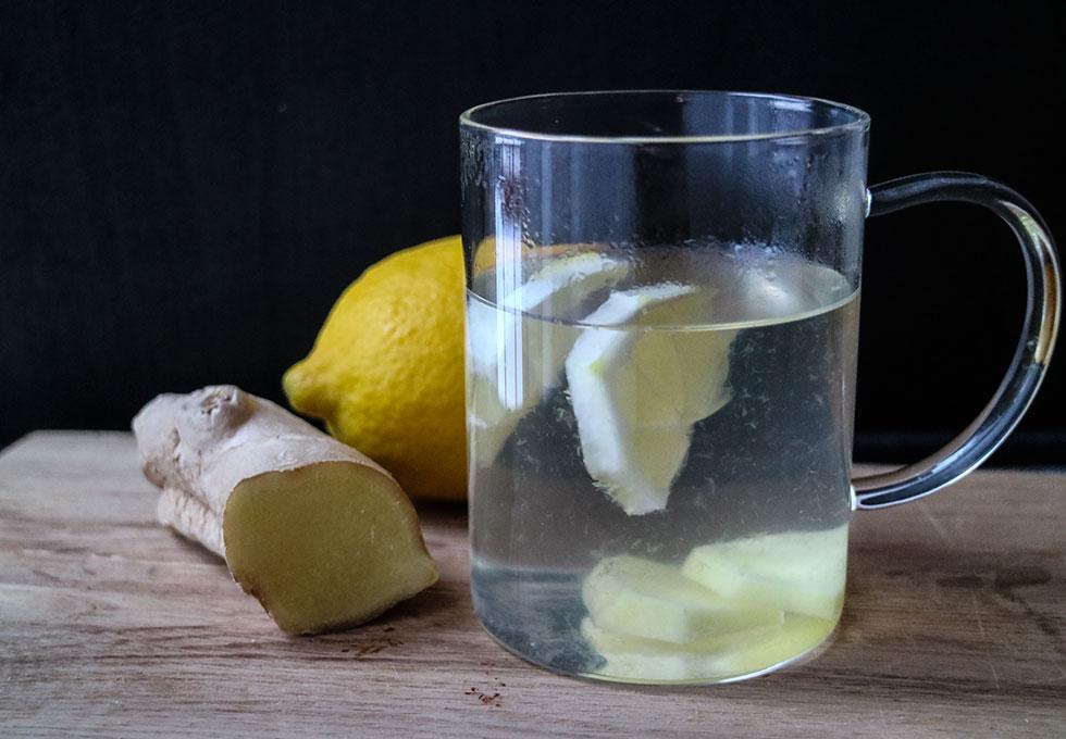 citronvatten-ingefära