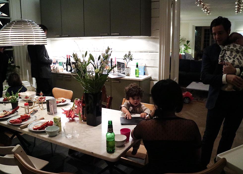 nyår-middag