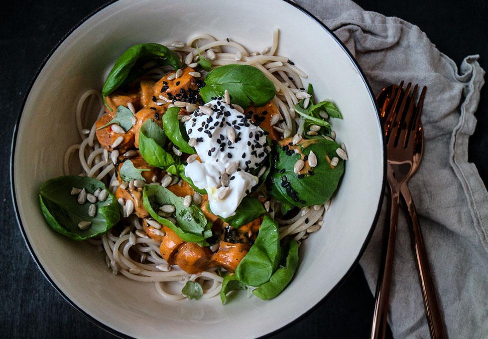 rispasta-med-vegetarisk-korv