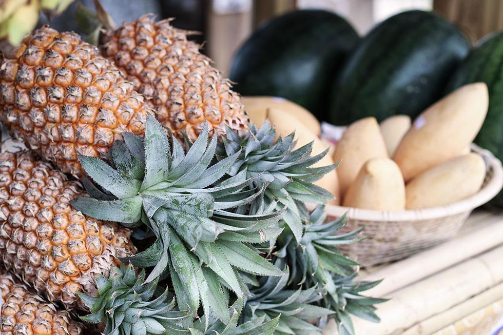 thailand-pinapple-krabi-frukt-ananas-sofitel