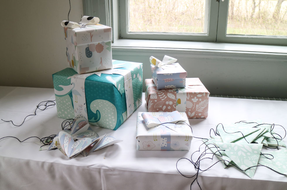 tapeter-dekoration-present-paket-photowall