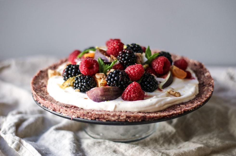 dessertpizza-frukostpizza-granola