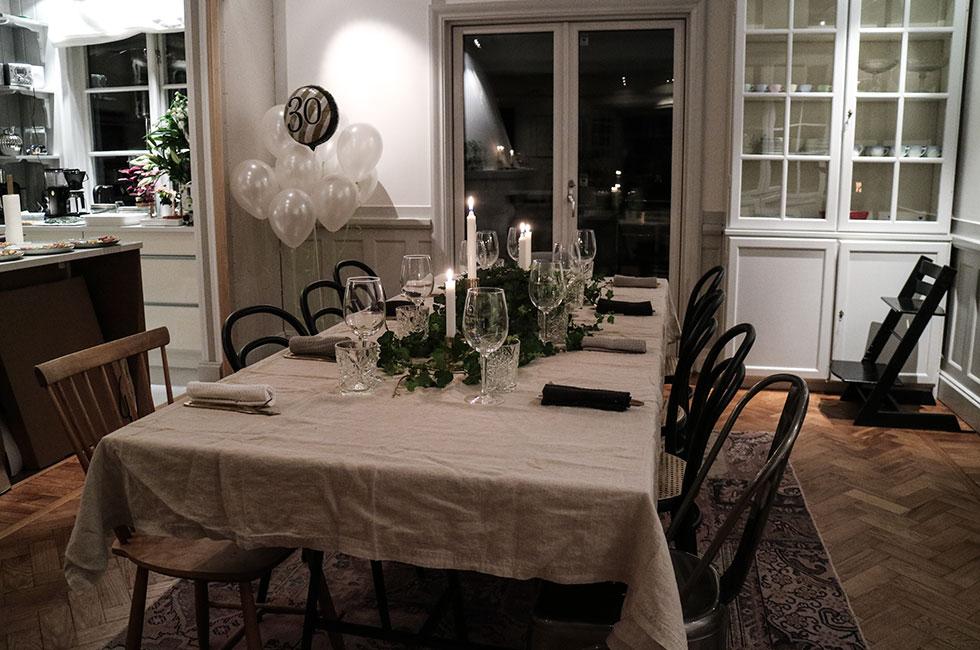 middag-dinner-hemmakock-skaldjur-dukning