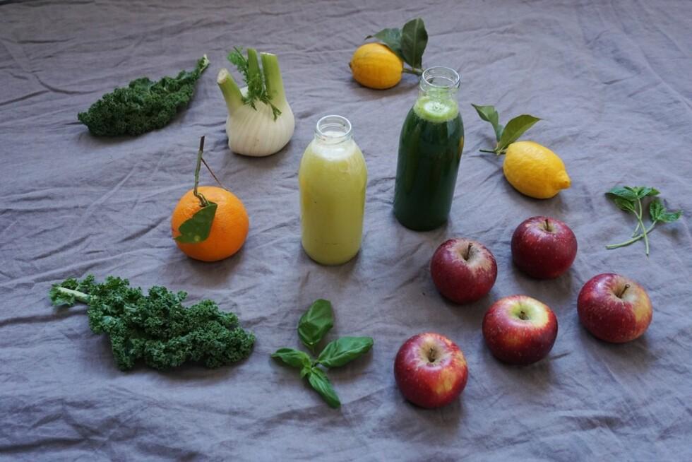 gröna juicer