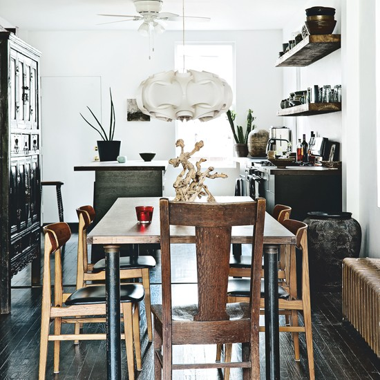 Eclectic-Wood-Dining-Room-Livingetc-Housetohome