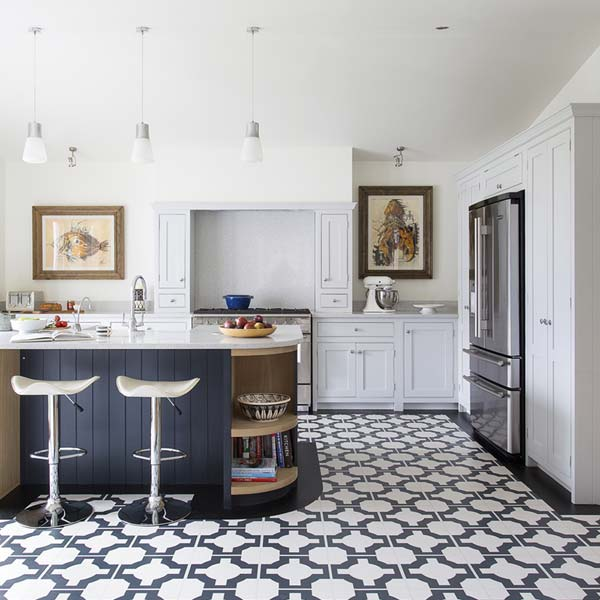 black-white-vinyl-kitchen