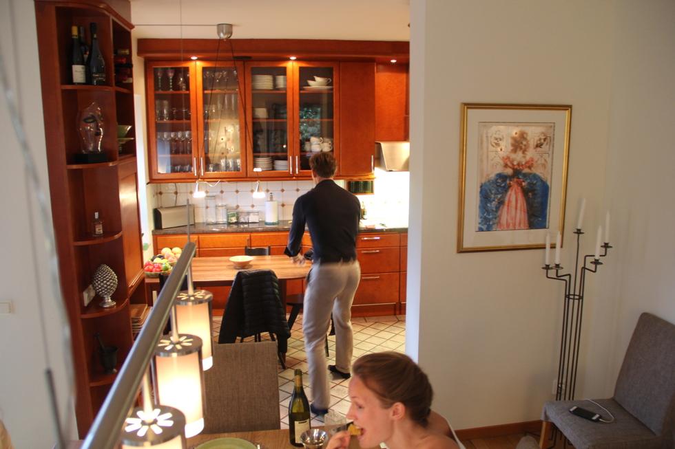 029e5d8e19f1 Väl i Linköping flyttade vi in i mina föräldrars hus och hade lyxen att få  ha Fredrik och Felicia som gäster.