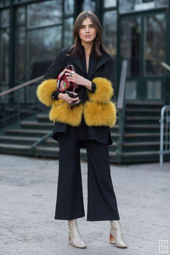 Photo: IMAXtree Street Style during Stockholm Fashion Week AW 16 Darja Barannik