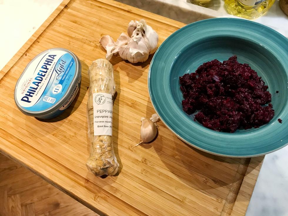 Recept med salmalax och rödbetor
